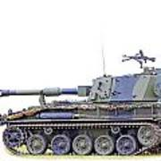 Light Weight Battle Tank Poster