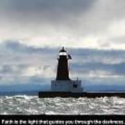 Lighthouse Faith Poster