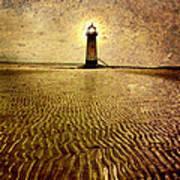 Lighthouse Grunge Poster
