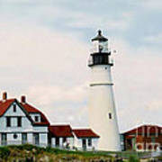 Lighthouse Maine Poster