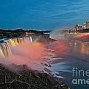 Lights On Niagara Poster
