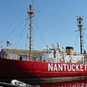 Lightship Nantucket Poster