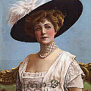 Lillian Russell On Cover Poster