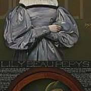 Lily Beau Pepys Poster by Patrick Anthony Pierson