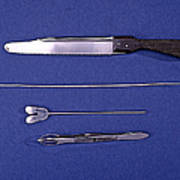 Lincoln Autopsy Instruments, 1856 Poster