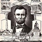 Lincoln Centennial, C1909 Poster