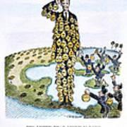 Lindbergh Cartoon Poster