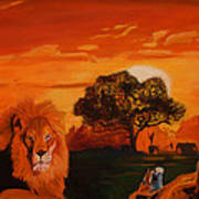 Lions Love Life Poster