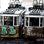 Lisbon Tram Poster by Gabriel Calahorra