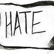 Literal Hate Poster