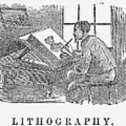Lithography, 19th Century Poster