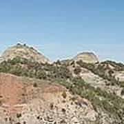 Little Badlands Missouri Panorama1 Poster