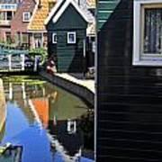 Little Dutch Houses Poster