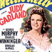 Little Nellie Kelly, Judy Garland, 1940 Poster by Everett