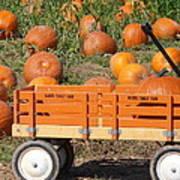 Little Orange Wagon Poster