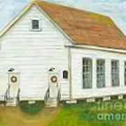 Little White Church Poster