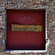 Loading Dock Door Poster