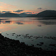 Loch Linnie And The Ardgour Mountains Poster