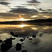 Loch Rannoch Sunset Poster