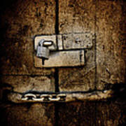 Locked Door Poster by Bobbi Feasel