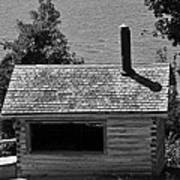 Log Cabin At Discovery Harbour Poster
