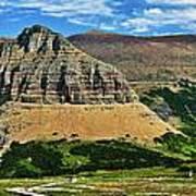 Logan Pass Panorama Poster