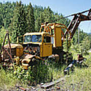 Logging Truck 2 - Burke Idaho Ghost Town Poster