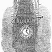 London: Big Ben, 1856 Poster