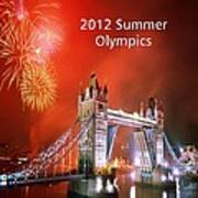 London Bridge 2012 Olympics Poster