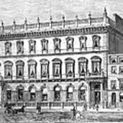 London: Carlton Club, 1868 Poster
