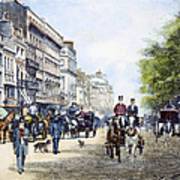 London: Piccadilly, 1895 Poster