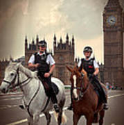 London Police Poster
