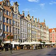 Long Market In Gdansk Poster