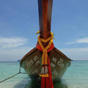 Long Tail Boat Thailand Poster