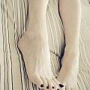 Long Toes Poster by Tos Photos