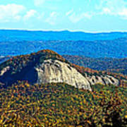 Looking Glass Mountain Blue Ridge Parkway Poster
