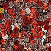 Loose Change . 9 To 16 Proportion Poster by Wingsdomain Art and Photography