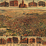 Los Angeles California 1891 Poster