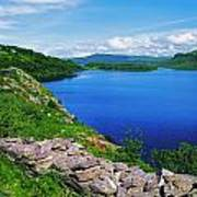 Lough Caragh, Co Kerry, Ireland Poster