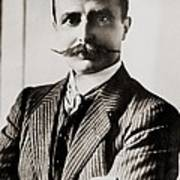 Louis Bleriot Was The First Man To Fly Poster by Everett