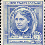 Louisa May Alcott (1832-1888) Poster