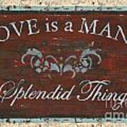 Love Is A Many Splendid Thing Poster