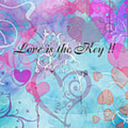 Love Is The Key Poster