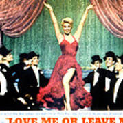 Love Me Or Leave Me, Doris Day, 1955 Poster by Everett