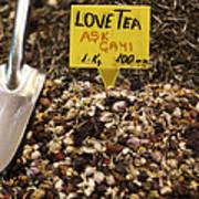 Love Tea Poster by Leslie Leda