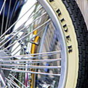 Low Rider And Silver Spokes Poster