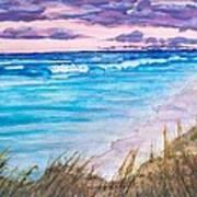 Low Tide Poster by Jeanette Stewart