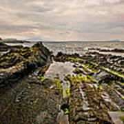 Low Tide Rocks Poster