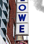 Lowe Drug Store Sign Color Poster