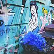 Lower East Side Street Art Poster